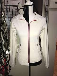 LuluLemon Zip Up Jacket (Size 8, White)