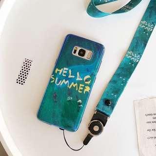 (包郵) samsung summer電話殼