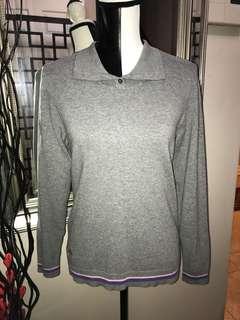 Adidas Knit Pullover Sweater (Medium)