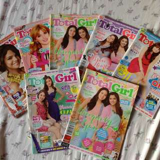 Totalgirl Bundle of 7 (with 2 posters)