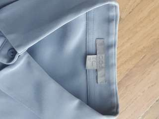 repricedCOS baby blue collared long sleeves in Medium
