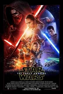 Star Wars TFA official poster