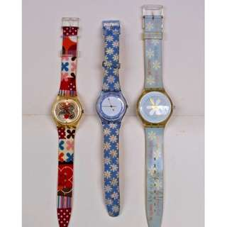 EUC Swatch Watches