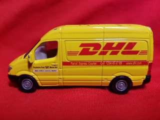 Siku DHL Mail Parcel Express Delivery Van free mail