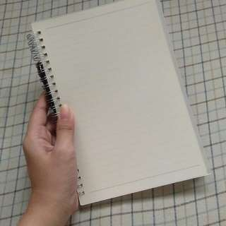 Spring Muji Notebooks