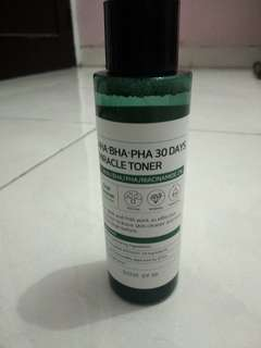 BEST SELLER SOME BY MI AHA BHA PHA MIRACLE TONER