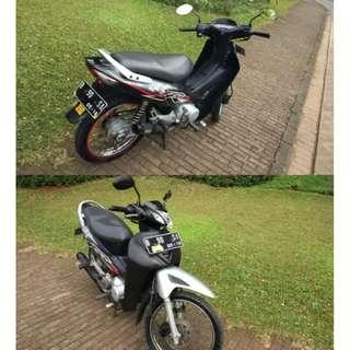 Honda Kharisma 125 D terawat km 28rb