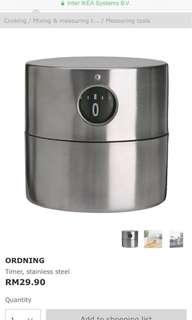 Ikea Ordning kitchen timer
