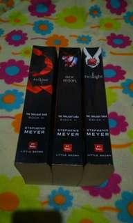 Twilight! BOOKS 1-3