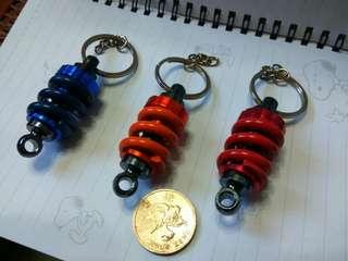 重金屬避震匙扣 每個$50  兩個$90