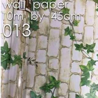 Bricks Stones Design Wallpaper Self Adhesive C013