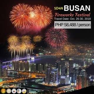 5D4N Busan Fireworks Festival