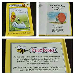 Winnie-the-Pooh and Eeyore's Birthday (small storybook, HB)