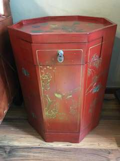 Reduced Chinese side cabinet