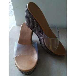 🔥Wedge Sandal Transparent - Marikina