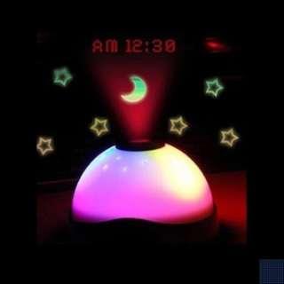 🚚 [INSTOCKS] Starry LED Colour Changing Digital Alarm Clock Light