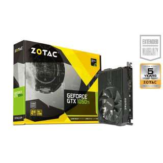 Zotac GTX 1050 Ti 4GB Mini Graphics Card