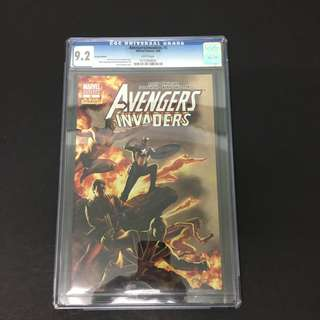 Avengers/ Invaders 8 CGC Marvel Comics Book Stan Lee Movie