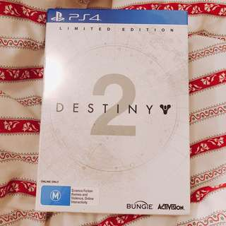 DESTINY 2 LIMITED EDITION (brand new, sealed)