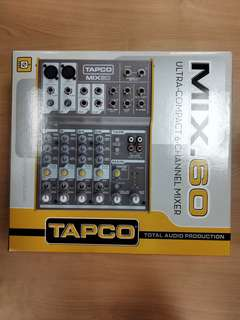 Tapco Mix60 6 channel mixer