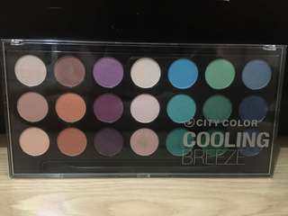 City Color Eyeshadow Palette