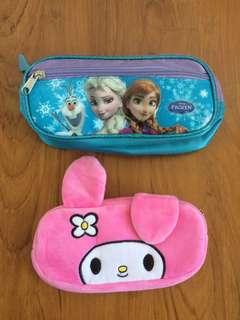 Frozen & Little Twin Star pencil case