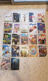 Nintendo Wii Games RM3/game & RM25 for 10games