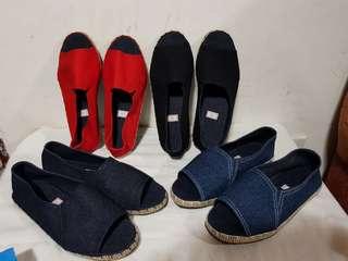 Pre order open toe espadrilles for women