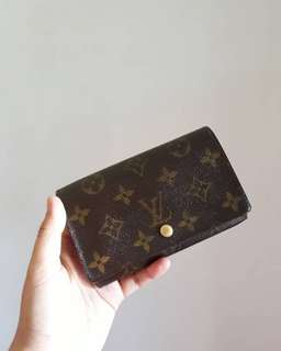 Authentic Louis Vuitton Compact Bifold Wallet