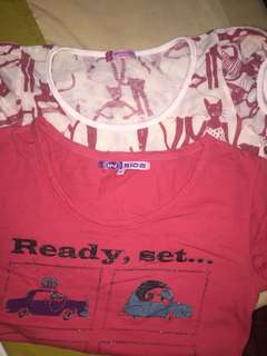 2 cute shirts for only 150!!