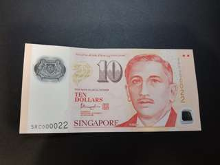 $10 Singapore Notes 000022