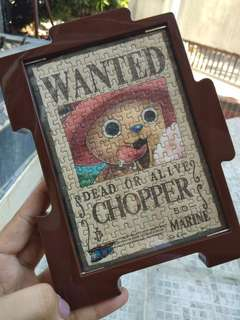 Chopper wanted poster puzzle