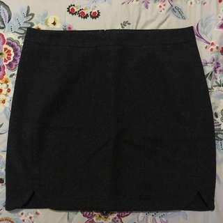J. Crew Fleece Skirt (Grey)