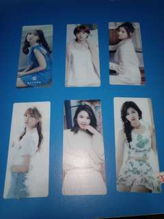 Official Twice Bookmark Season Greetings 2017 Loose
