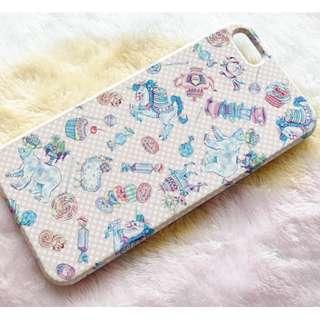 日本版 - iPhone 5S SE用手機殼 Smartphone Case Unicorn 馬戲團 獨角獸 馬仔