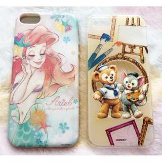 日本版 - iPhoneSE 5S 用手機殼 Case (Disney Ariel Duffy Gelatoni)