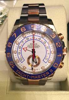 Rolex Yacht Master ll ( Rose Gold )