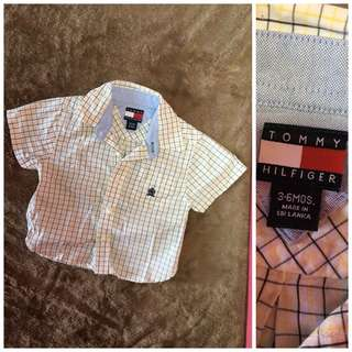 baby polo buttons down 3-6months