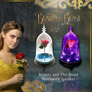 ✔Authentic Beauty and the Beast Bluetooth Speaker