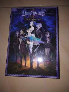 Official Complete Guide Book for Odin Sphere Game and Exclusive Artbook