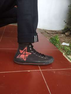 Converse All Star black red
