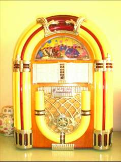 Classic Style Vintage Juke box Design Radio in AM & FM. with Lights.