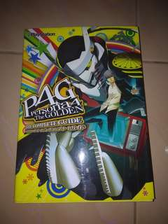 Official Complete Japanese Guidebook for Persona 4 Golden & Persona 5 Game