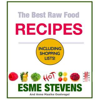 The Best Raw Food Recipes (77 Page Mega eBook)