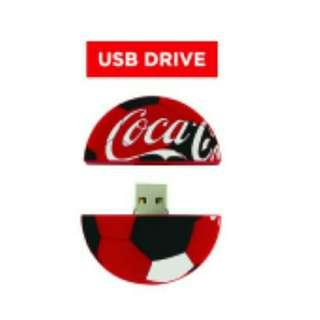 Coca-Cola Coke 4GB USB Drive! Fifa World Cup 2018 Collectible!