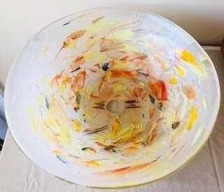 Handmade Single Piece Glass Wash Basin