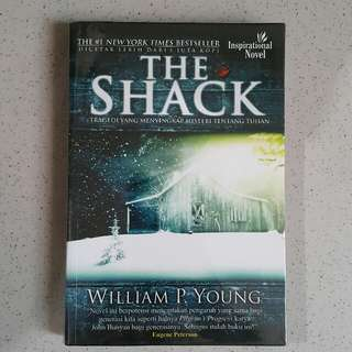 Novel The Shack (sampul plastik)