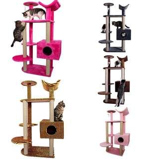 7 tiers Cat condo cat scratch pole cat tree house