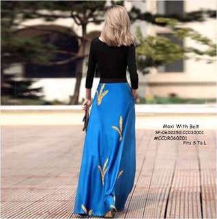 MAXI WITH BELT Fits S To L  Price : 390