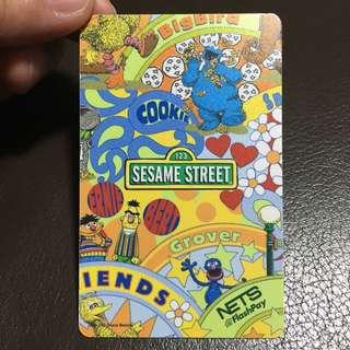 Sesame Street NETS FlashPay EZ Link Card